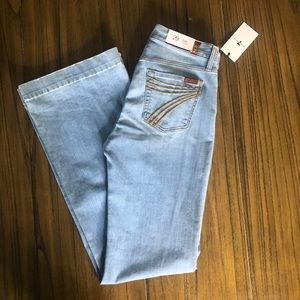 7 for All Mankind dojo high rise flare jeans